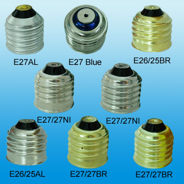 Led Light Bulb lamp cap/base, Edison sockets