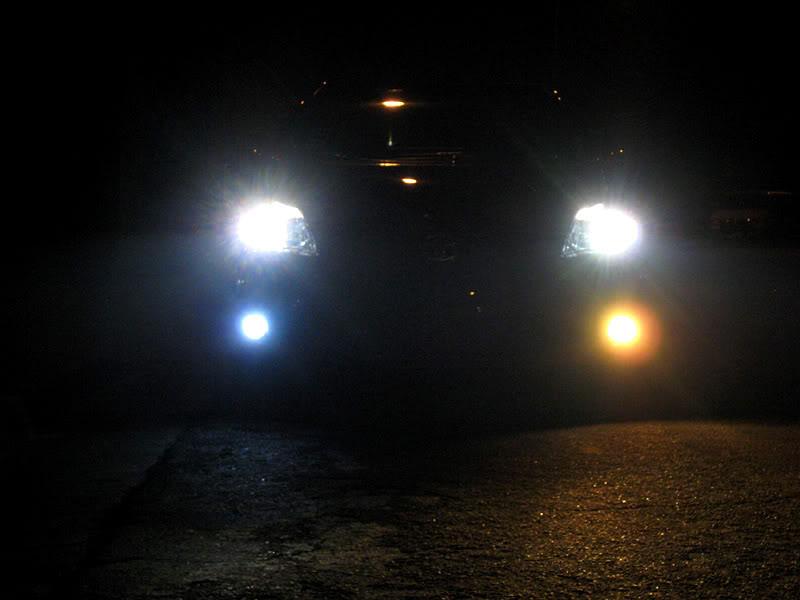 Halogen Light For Cars >> Testing, LED Lights for cars, H8 / H11 LED Fog Lights vs. Halogen Yellow Bulbs