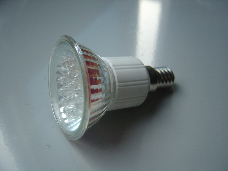 JDR, E14 base, 20 LEDs, Warm White bulb,220V/230V