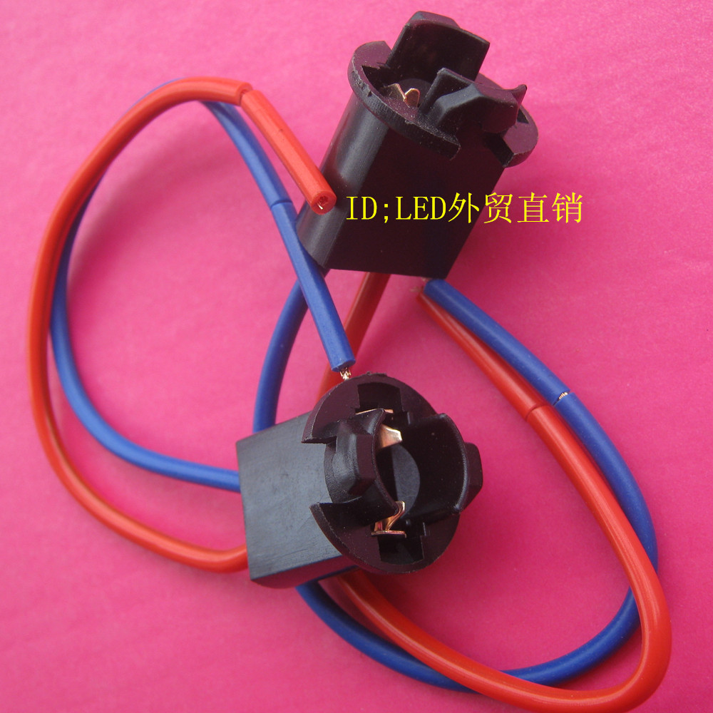 T5 WEDGE T10 WEDGE 194 Lamp holder With 11cm long wire