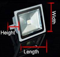 10W outdoor landscape LED lighting, DC12V or DC24V