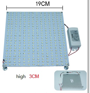 22 Watt led lights As 60W 2D or U fluorescent replacement