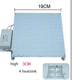 26 Watt led panel, As 70W 2D fluorescent replacement