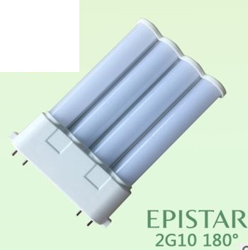 18W 2G10 led tube as 36 watt CFL replacement