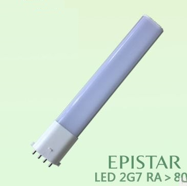 2G7 led bulbs 6W as 12 W 2GX7 CFL replacement