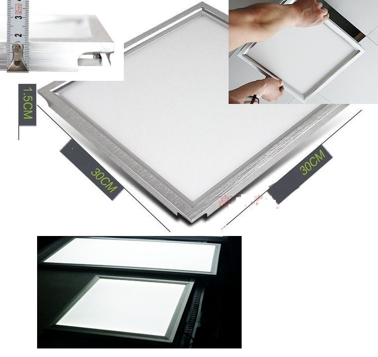 Modularization buckle plate Integrated ceiling panel LED lights