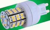 G9 led, 3W dimmable bulbs, w/48pcs 3528 SMD LED, Cool white