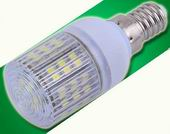 E14, 3W dimmable LED, 31mm w/cover LED bulbs, cool white