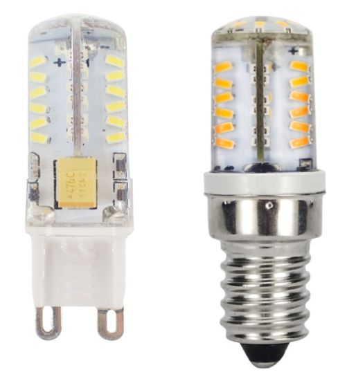 3W ac/dc 12V 24V G9 LED light Bulb E14 LED bulb