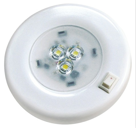 LED Cabinent lights for Boats cars, 4W with switch DC10~30v