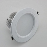 "6"" LED downlight bulbs, 18W, ivory color Fixture, 85~265V"