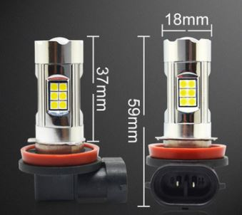 12V 24V 40W Cree LED Car fog light day run light Reverse light