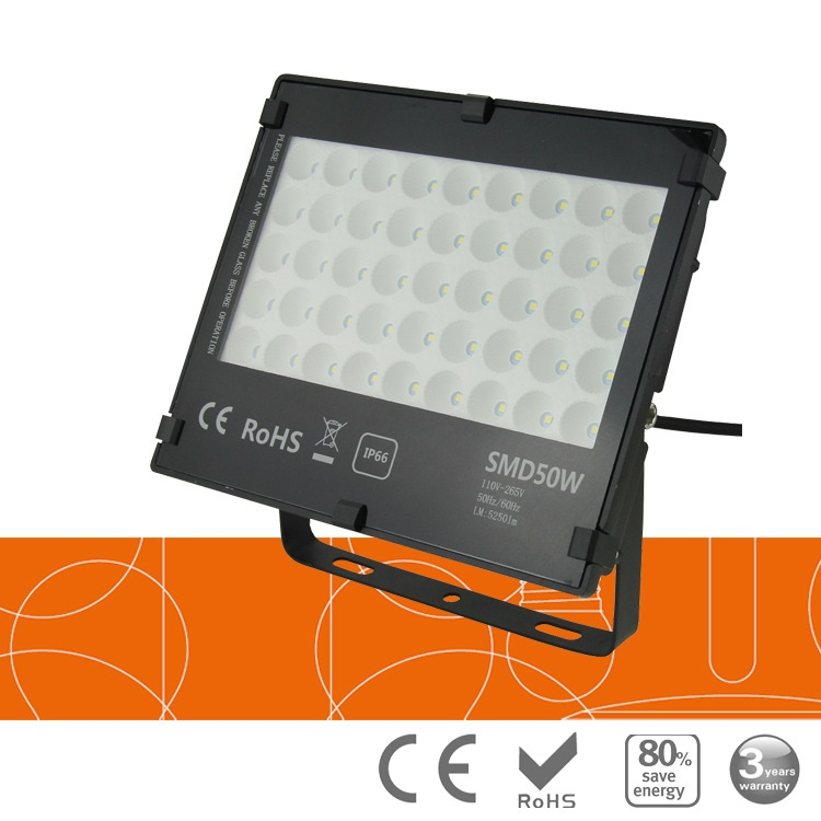 50 Watt outdoor landscape LED floodlights, AC85~265V