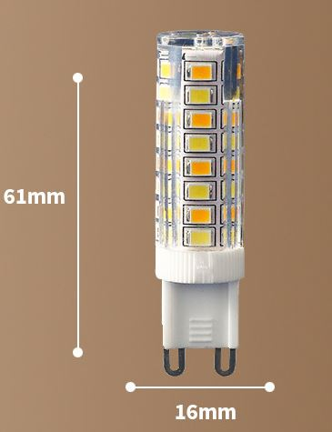 7W Ceramic G4 LED light Bulb 12V G9 LED light Bulb 220V G4 LED