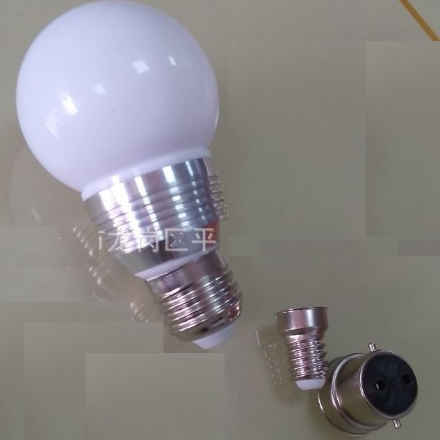 5 Watt A15 50mm Globe led bulbs, E11, E12, E26, GU10 LED