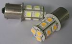 1156 BA15S, 2.3 watt car led light bulbs, Warm White,10~30v