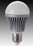 E26/E27, 6.5W high power LED light, 60mm ball, dimmable,120V