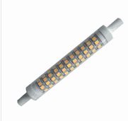 R7S LED bulbs, 10W LED Quartz Double Ended Dimmable led bulbs