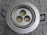 LED downlight 3x3W=9W with Aluminum Fixture