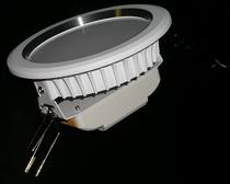 LED downlight 10 Watts white baking finish Fixture, 85~265V