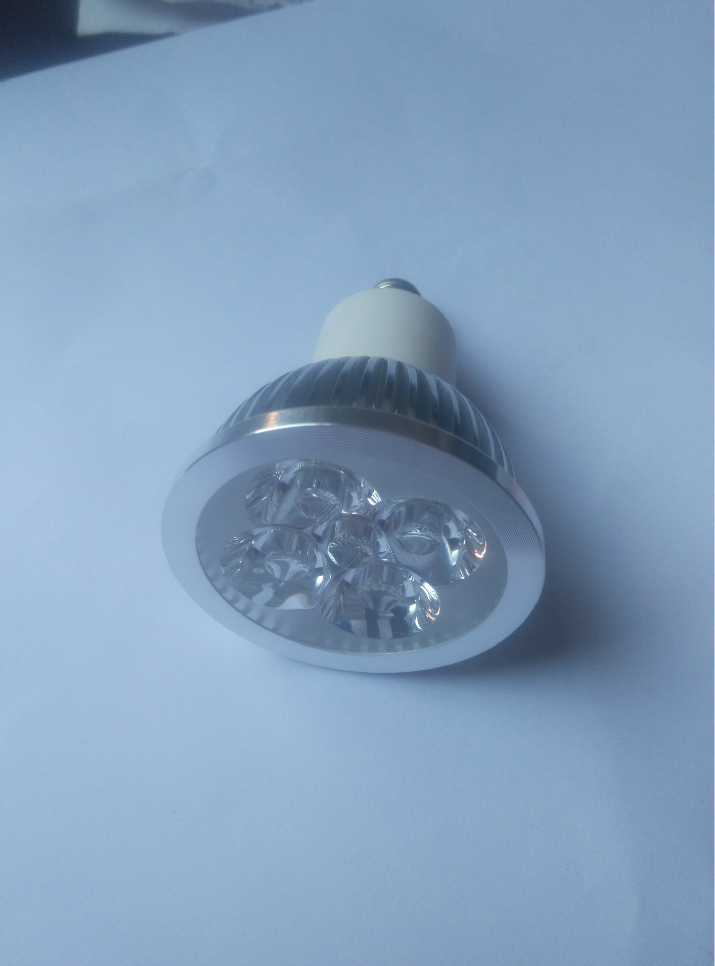 E11 E12 E14 GU10 4 watt LED light bulbs, Use 4 pcs 1 watt leds