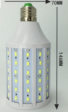 E27 led bulbs for Boats, 20 Watt, 12V, 24V, 36V, 48V, 60V