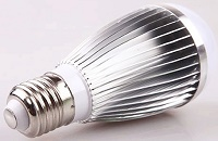 9W, E27, 24V, 36V, 48V, 60V LED bulbs for boats, AC/DC 24V~36V