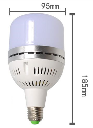 50W 120-277V flicker free LED bulb for Perfect Photography Light
