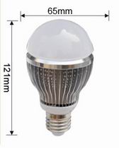 PAR20 LED bulbs, 9W, Dimmable remote controlled RGB