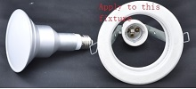 E27 LED bulb for ceiling fixture