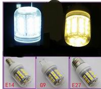 G9 E27 E14 5W LED Bulbs 30 pcs 5050 SMD LED, 10~30V, 110V, 220V