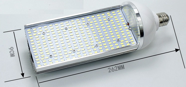 E40 E27 80W 277V LED light bulbs AC 120-277V LED bulb