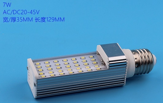 7W E27 G23 G24 24V 36V DC 48V DC 60V CFL LED boat lights