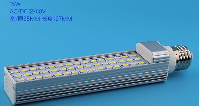 15W E27 G23 G24 24V 36V DC 48V DC 60V LED boat light bulbs