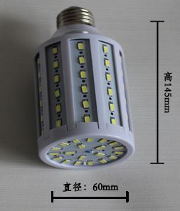E40, E27, B22, E14 base 24W led light CFL replacement AC85~265V