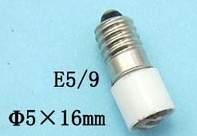 E5 Midget Screw Base LED bulbs, E5 LED replacement bulbs