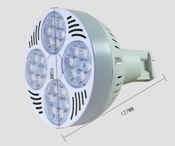 PAR30 45W 120-277V LED bulb with G12 Bipin base