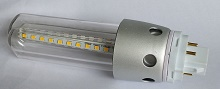 "10W American standard G24 q 4 pin, G24 d 2 pin 6"" CFL LED bulbs"