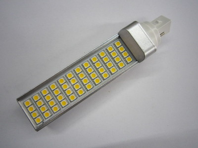 277 volt 9W LED bulbs as CFL replacement E27, G23.GX23, G24 LED