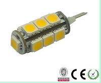 G4 T10, 2 watt led bulbs for cars, warm white, DC12V