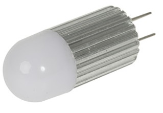 G4 LED 1.5 watt LED Lights , 9.8mm bulbs, Milky frosted, 12V