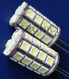 GY6.35 LED 3W, 34pcs 5050 SMD, White, Blue, RED, Yellow, 12V