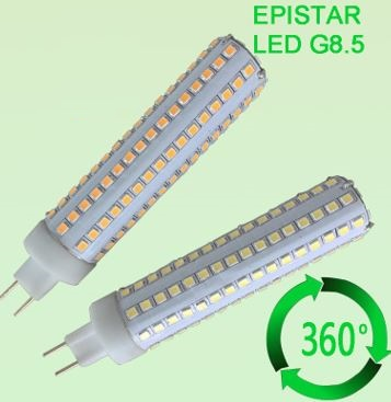 277V LED, 15W G8.5 LED lights bulbs, AC100~305V LED - Click Image to Close