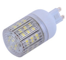 G9, 3W LED bulbs, 31mm case ball w/48pcs 3528 SMD LED, 120V