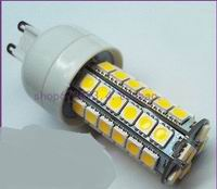 G9 LED bulbs, 7watt with 48 pcs 5050 SMD LED, Warm white, AC120V