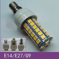 G9, E14, E27 LED bulbs, 7watt with 48 pcs 5050 SMD LED, OEM
