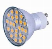 GU10,w/cover 3.5 Watt dimmable LED Light,cool white, 85~265V