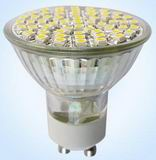 GU10 LED light bulbs, 3.5W, 60pcs 3528 SMD, Warm white, 85V~265V