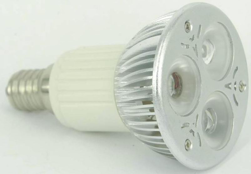Jdr Led Light Bulb Replacement E14 3pcs 2w Leds Warm