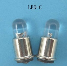 Midget Flange LED bulbs 3V LED, 4.5V LED, 6V, 12V, 24V, 28V, 36V